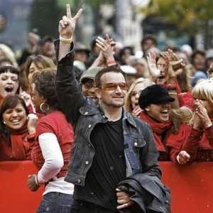 il musicista nella folla