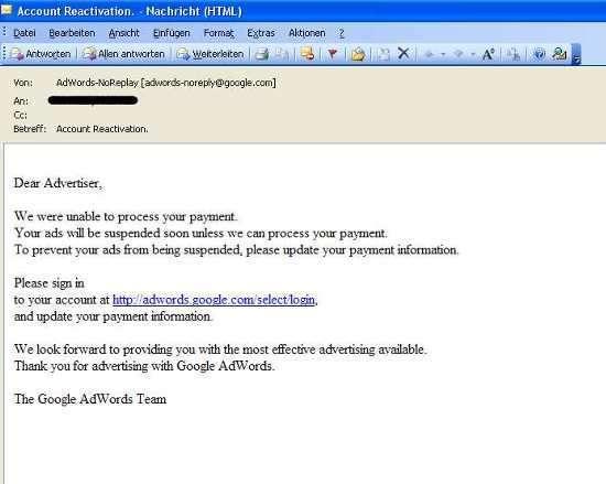 una mail