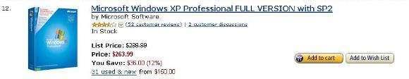XP vende