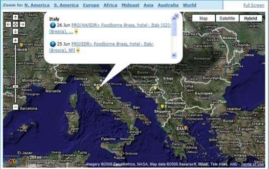 Due casi in Italia