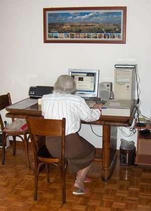 nonnina al PC