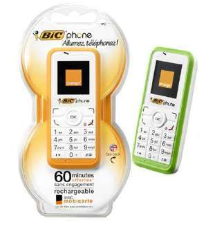 Bic phone low cost