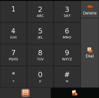 l'applicativo di dialing