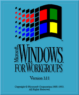 La splash screen di Windows 3.11