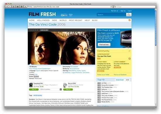 Un film in vendita - Il codice Da Vinci