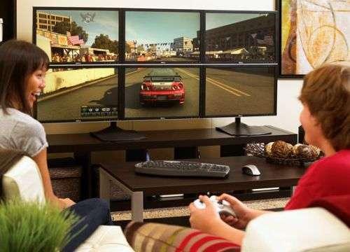 Monitor multi-display con tecnologia ATI Eyefinity