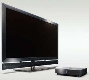 Cell Regza 55X1 HDTV