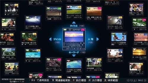Un'altra immagine del Cell Regza 55X1 HDTV