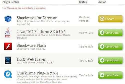 Plugin Check Page