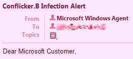 la falsa email