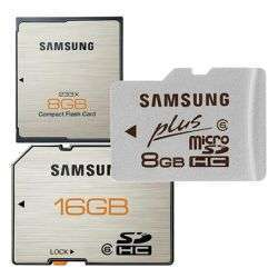 Memory card Plus di Samsung