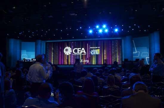 il palco del keynote del CES 2010