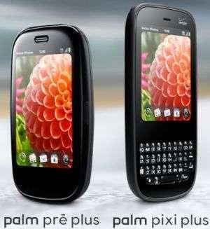 Palm Pre Plus e Palm Pixi Plus