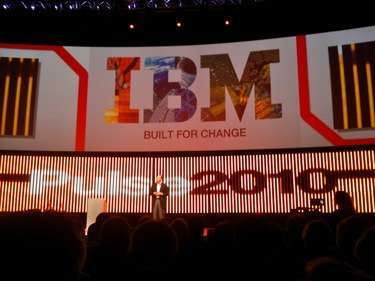la sessione plenaria del Pulse 2010 di IBM