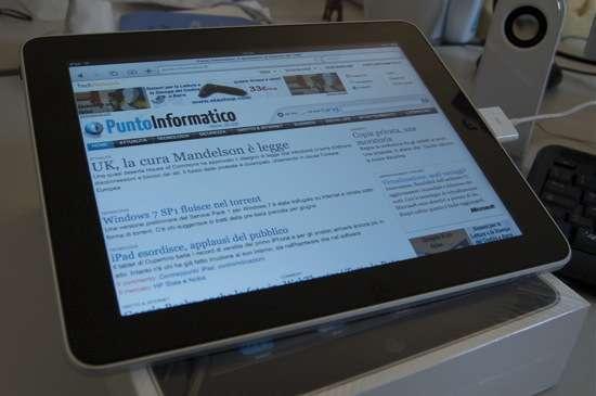 navigazione con iPad