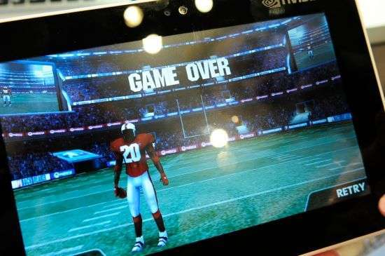 Gioco di football in 3D