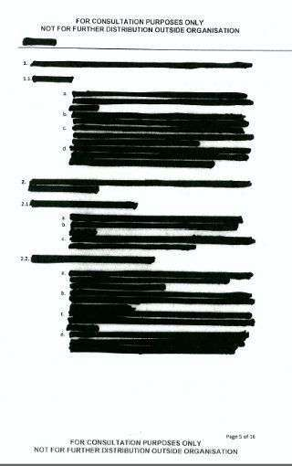 una pagina documento