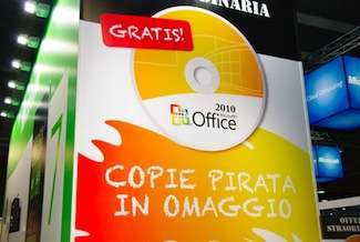 l'offerta di office pirata a smau
