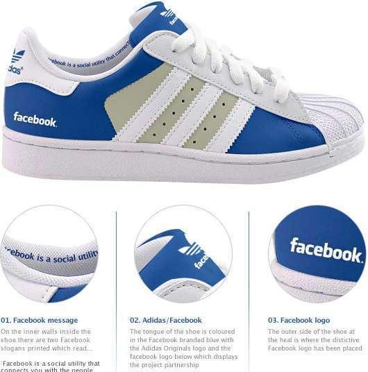 Scarpe Facebook