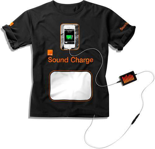 Orange Soundcharger