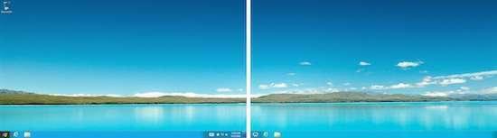Il desktop resta al suo posto