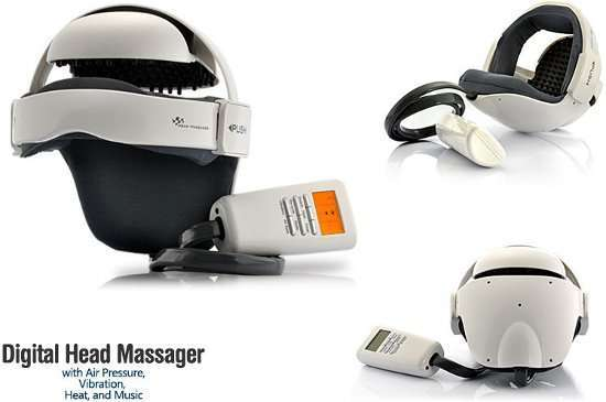 Digital Head Massager