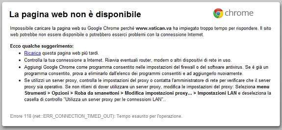 vatica.va offline