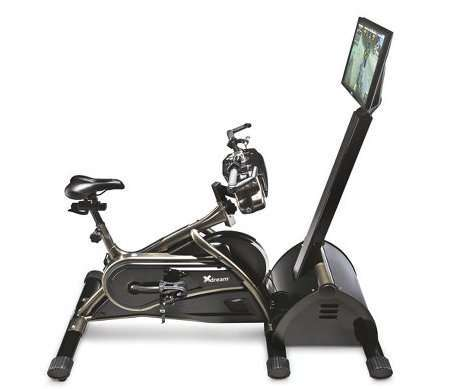 Virtual Mountain Bike Racing Simulator