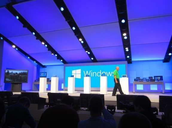 La sala dei keynote di Build 2012