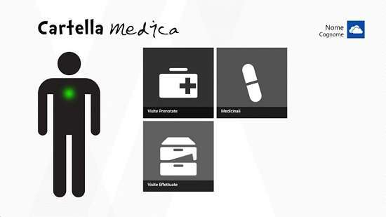 l'app cartella medica per windows 8