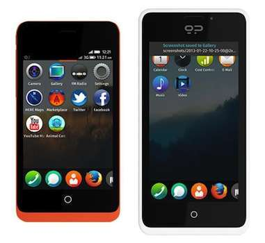 Peak e Keon, i primi smartphone con Firefox OS