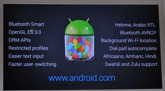 le novità di android 4.3