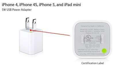un caricabatterie apple