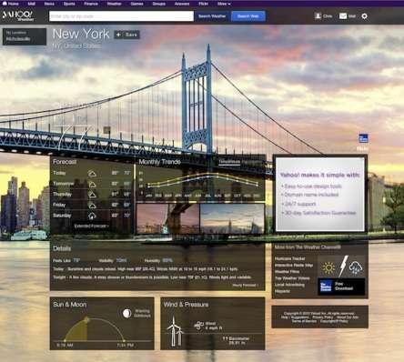 nuova grafica Yahoo!