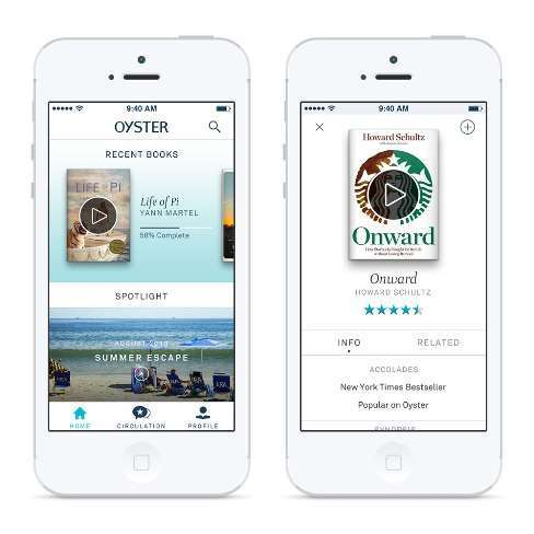 oyster app home