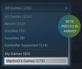 Condivisione familiare di Steam
