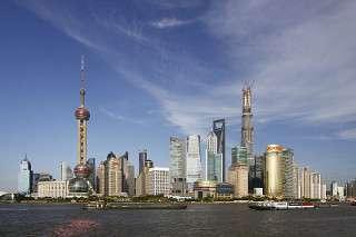Il distretto finanziario di Pudong
