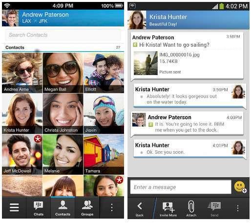 BBM per iOS e Android