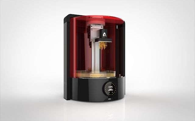 il rendering della stampante 3d di autodesk, spark
