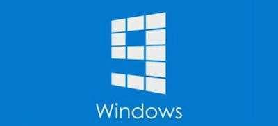 Un mockup del logo possibile di Windows 9