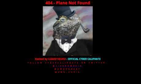 La homepage di Malaysia Airlines