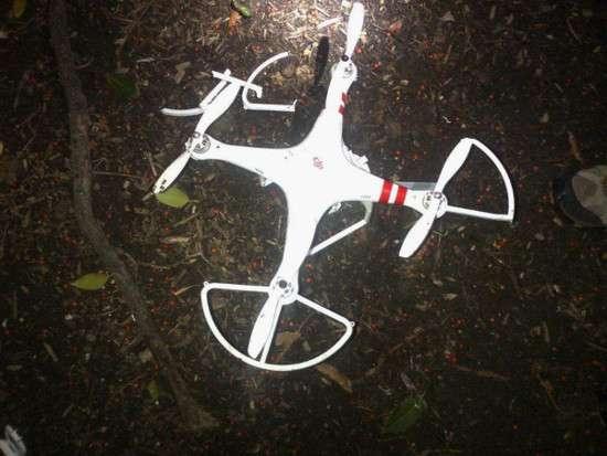 Il drone atterrato alla Casa Bianca