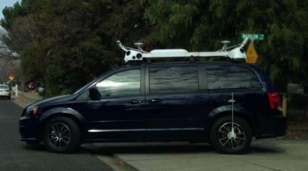 L'auto noleggiata da Apple