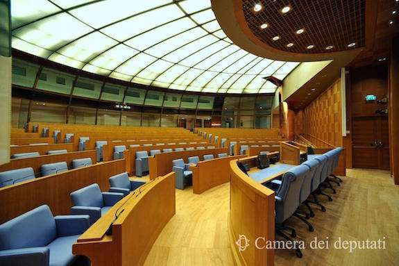 La Nuova Sala dei Gruppi della Camera dei Deputati