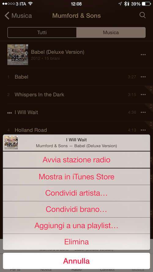 Apple Music, Musica