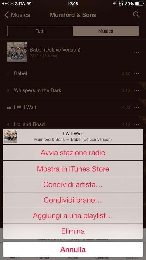 Apple Music, Musica