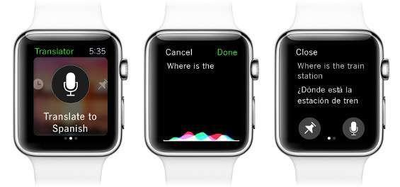 Translator su Apple Watch
