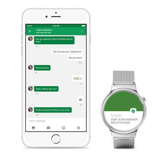 Android Wear e iOS