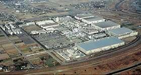 L'impianto di Oita
