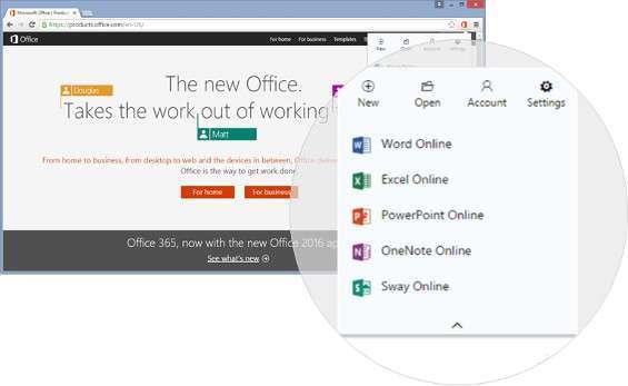 Estensione Office per Chrome